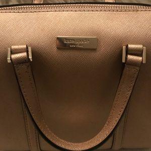 Rose Gold Kate Spade Boston bag